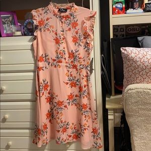 Lulus dress - pink and patterned - large